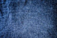 Blue denim texture Stock Photos