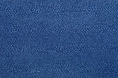 Blue, denim texture. Fabric texture of the jeans Stock Image