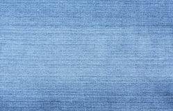 Blue Denim Textured Background Stock Photo