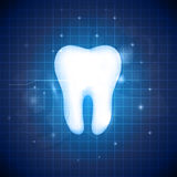 Blue dental design Stock Photos