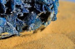 Blue desert rose 3 Stock Images
