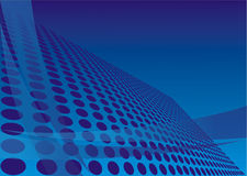 Blue design Stock Photography