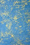 Blue design paint texture stock photography