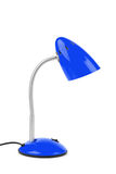 Blue desk lamp Royalty Free Stock Photography