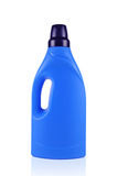 Blue Detergent Bottle Royalty Free Stock Photo