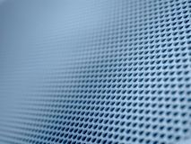 Blue Diagonal Grid Background. A computers and technology themed background pattern in blue. Ideal as a background, layer, or texture royalty free stock photography