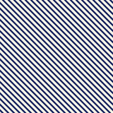 Blue diagonal stripes abstract background. Thin slanting line wallpaper. Seamless pattern with simple classic motif. Royalty Free Stock Image