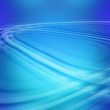 Blue diagonal waves Stock Photo