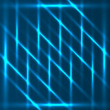 Blue diagonals abstract glowing background. Blue abstract glowing diagonal lines background Royalty Free Stock Photos