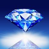 Blue diamond Stock Image