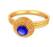 Blue diamond Royalty Free Stock Image