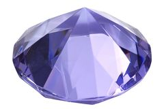 Blue diamond Stock Images