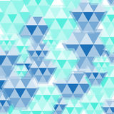 Blue diamond pattern Royalty Free Stock Image