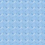 Blue diamond plate Stock Image