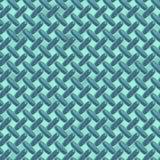 Blue diamond plate metal Stock Photo