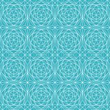 Blue diamond seamless pattern Royalty Free Stock Image