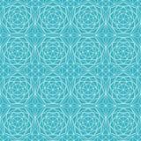 Blue diamond seamless pattern. (eps 10 Stock Illustration