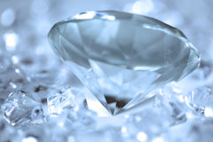 Blue diamonds Stock Photography