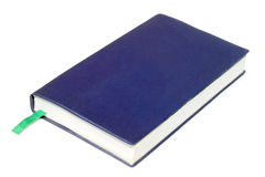Blue diary Stock Photography