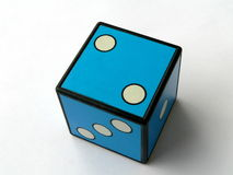 Free Blue Dice Royalty Free Stock Images - 1736499