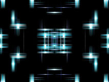 Blue digital abstract Royalty Free Stock Images