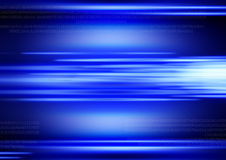 Blue Digital Background Royalty Free Stock Photography