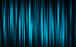 Blue digital curtain. Blue vertical stripes. Excellent as wallpaper or background Royalty Free Stock Photography