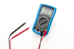 Multimeter with probes Stock Photos