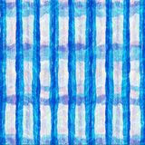 Blue digital oil paint abstract color stripe banner,template ,. Display wallpaper background royalty free illustration