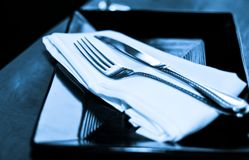 Blue Diner Royalty Free Stock Photography