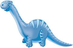 Blue dinosaur Stock Photography