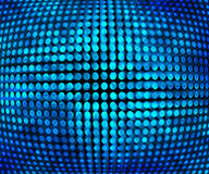 Blue Disco Background Texture Royalty Free Stock Photography