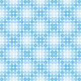 Blue disco pattern Stock Images