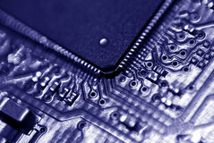 Blue Disk Royalty Free Stock Photos