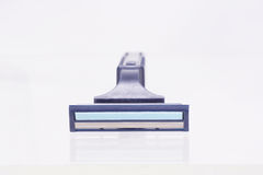 Blue disposable razor. Stock Photography