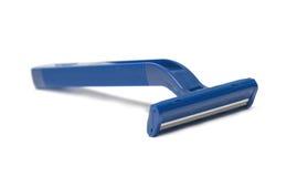 Blue disposable razor Stock Image