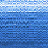 Blue distorted lines pattern Stock Images