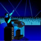 blue dj party ελεύθερη απεικόνιση δικαιώματος
