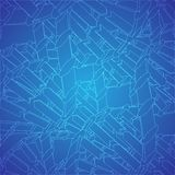 Blue dna texture. Vector background eps10 Stock Photos