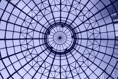 Blue dome. Dome at The Shops at Liberty Place in Philadelphia stock photo