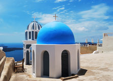 Blue Dome Royalty Free Stock Photography