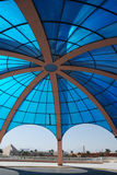 Blue dome Stock Images