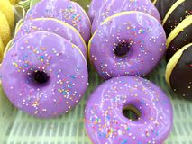 Blue Donut Royalty Free Stock Images