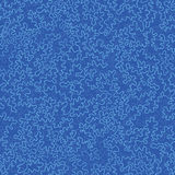 Blue doodle shapes seamless pattern background Royalty Free Stock Photography