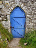 Blue Door Royalty Free Stock Photography