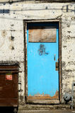 Blue Door Stock Photography