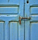 Blue door Stock Image