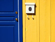 Blue Door Abstract Royalty Free Stock Image