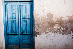 Blue Door. This Is Art photography on places Stock Image