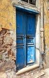 Blue Door, Beirut Stock Photography